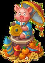New Year Symbol (Piggy)