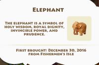 Elephant Artifact