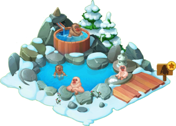 Snow Monkey Enclosure
