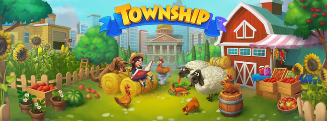 Township Spring Background