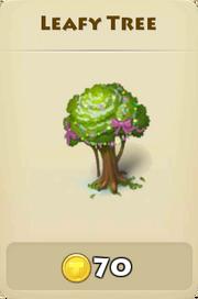 Leafy tree2 winter