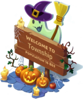 Big Halloween Sign