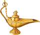 Oil Lamp Icon