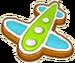Plane Cookie
