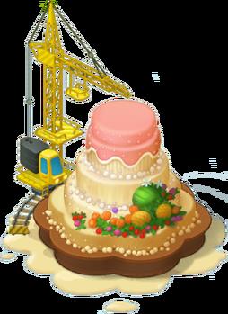 Biggest Cake Layer 4