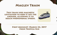 Maglev Train Artifact