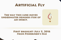 Artificial Fly Artifact