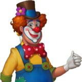 Amusement Park Clown