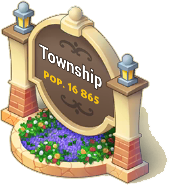 Flower Town Sign