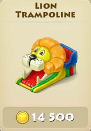 Lion trampoline