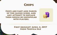 Chips Artifact