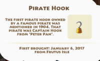 Pirate Hook Artifact