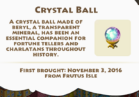 Crystal Ball Artifact