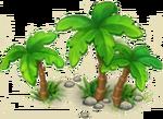 Three Palm Trees 2