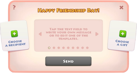 Friendship Day Event Info