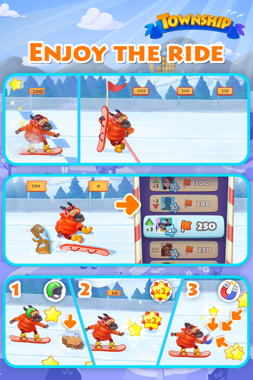 Snow Ride Event Playrix Guide