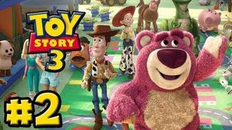 Toy Story 3 The Video-Game - Part 2 - Toy Box (HD Gameplay Walkthrough)