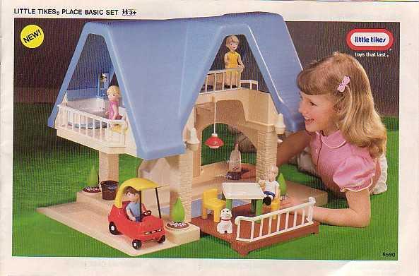Perfect Little Tikes Dollhouse