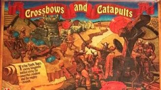 Ep. 162 Crossbows And Catapults Board Game Review (Lakeside 1983)