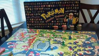 Coming Soon Pokemon Master Trainer Board Game Review