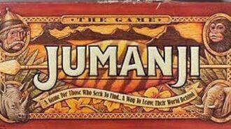 Ep. 177 Jumanji Board Game Review (Milton Bradley 1995)