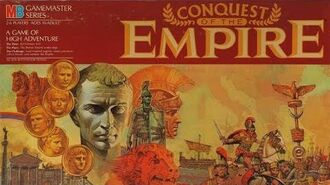Ep. 164 Conquest Of The Empire Board Game Review (Milton Bradley 1984)