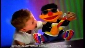 Sesame street toy commercial 1999
