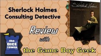 Sherlock Holmes Consulting Detective Review - with the Game Boy Geek