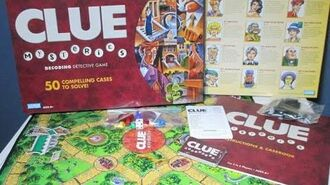 Ep 153 Clue Mysteries Board Game Review (Parker Brothers 2005)