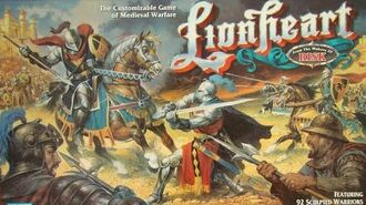Ep. 163 Lionheart Board Game Review (Parker Brothers 1997)