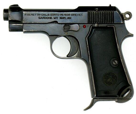 File:Beretta Model 1934 Pistol.jpg