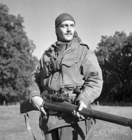File:566px-Sergeant H.A. Marshall of the Sniper Section, The Calgary Highlanders.jpg