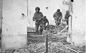 British paratroopers in Oosterbeek