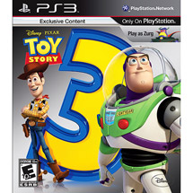 Toy Story 3 w Walmart Exclusive Customized Theme Packs (PS3)
