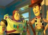 Woody and Buzz in Toy Story 2