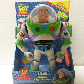 Deluxe Electronic Buzz Lightyear Box (2002)