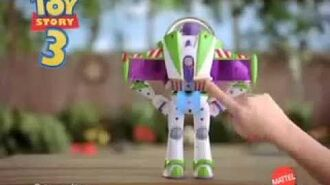 Mattel - Toy Story 3 - Jet Pack Buzz Lightyear Deluxe Figure