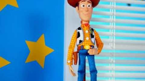 Toy Story Buzz Lightyear & Woody Talking Action Figures