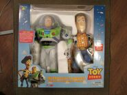 Interactive Buddies Buzz And Woody Box (1st Edition 1997)