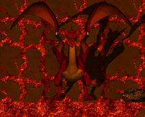Gran dragón rojo