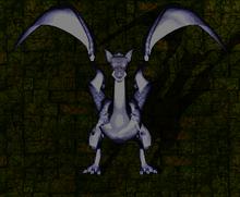 Gran dragón de plata