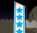 Hanging flag