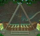 Swinging ship