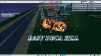 EPIC EASY DECA KILL ACHIEVEMENT STEP BY STEP Theme park Tycoon 2 DECAKILL