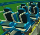 Floorless coaster