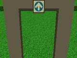 One way doorway (Metal)