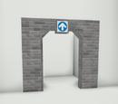One way doorway (Brick)