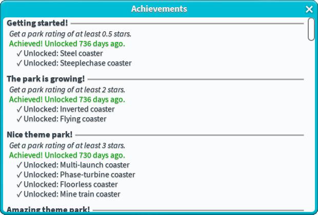Achievement | Theme Park Tycoon 2 Wikia | FANDOM powered by