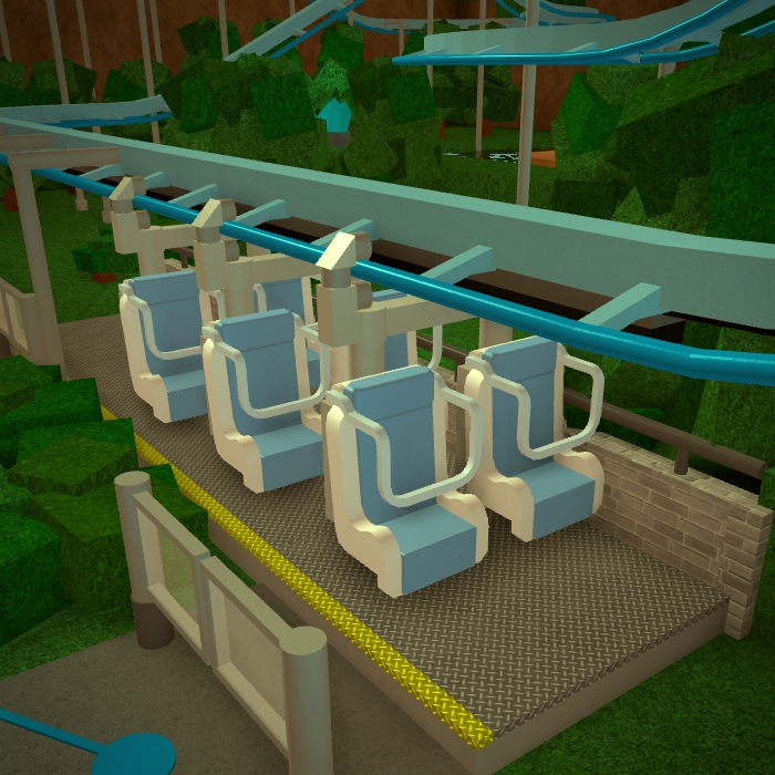 Inverted coaster | Theme Park Tycoon 2 Wikia | FANDOM