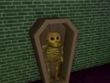 Coffin/Vertical, skeleton